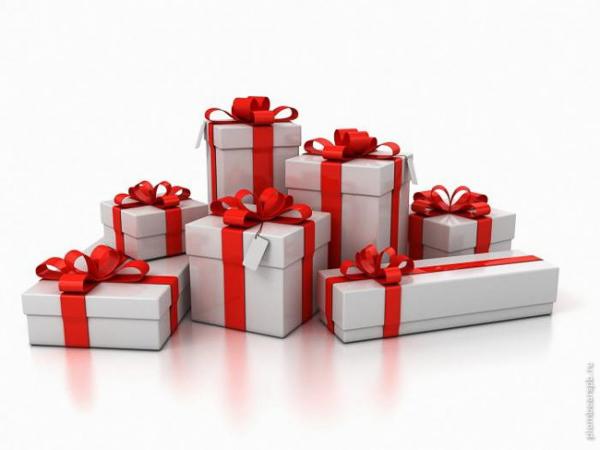 бонусы и подарки