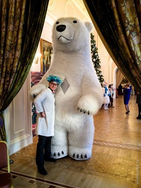 Безумный доктор и белый медведь заказать шоу в Спб