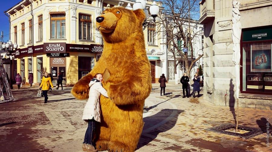 медведи в Крыму Plombear бурый мишка в Симферополе