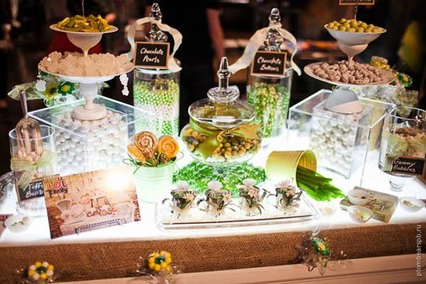 Вкусный и разнообразный сладкий стол