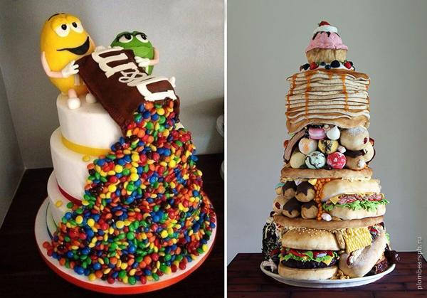 Крутые торты на праздник