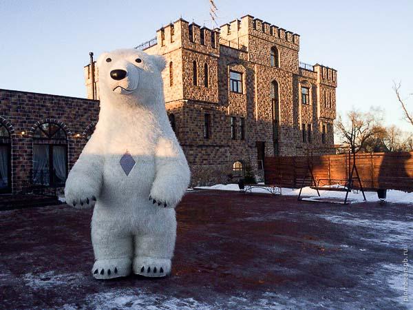 белый медведь замок в Пушкине Спб