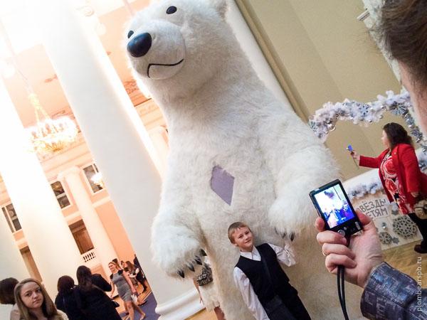 Белый медведь в таврическом дворце