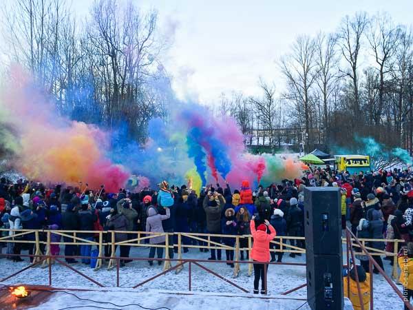 фестиваль цветного дыма 2016